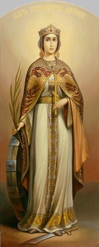 Святая великомученица Екатерина – пример истинной веры, победы над плотью, миром и дьяволом