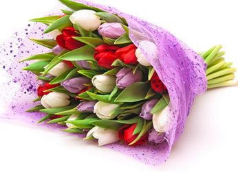 Заказать цветы с доставкой, подарить букет цветов